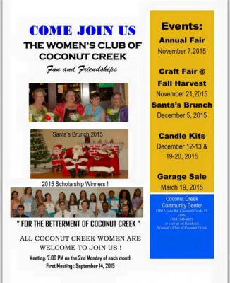 The Women's Club of Coconut Creek